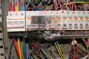 Here Are Some Examples Of Electrical Hazards And Bad Wiring