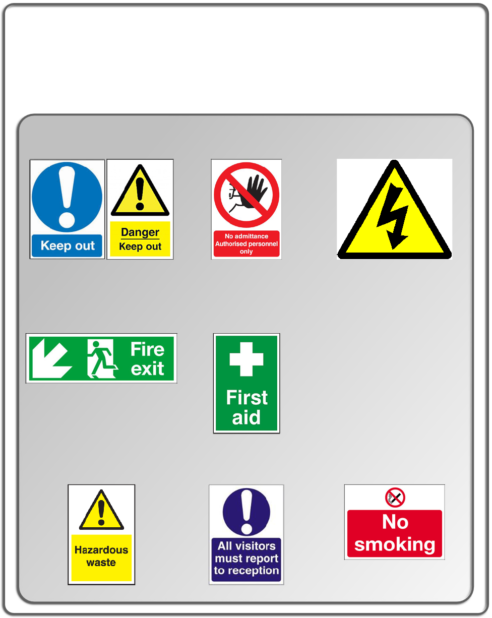 Fire & Electrical Solutions, Fire Safety Signs, Electrical Safety ...